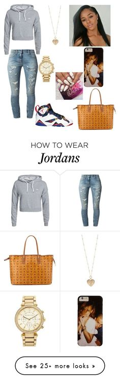 """Untitled #471"" by princessdymin on Polyvore featuring Only Play, Faith Connexion, Betsey Johnson, MICHAEL Michael Kors and MCM"