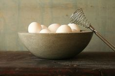 French Country Concrete Bowl (9.375) | Annie Housewife Home & Decor Store On SALE now!