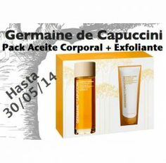 Pack Germaine de Capuccini (Firm & Tonic+ Scrub) ^_^ http://www.pintalabios.info/es/sorteos_de_moda/view/es/3271 #ESP #Sorteo #Cosmetica