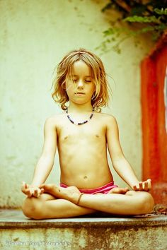 If every child meditated, we would create a very different world. #KidsYoga