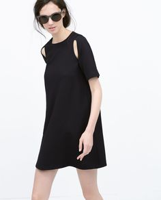 SHORT SLEEVE DRESS-View all-Dresses-WOMAN | ZARA United States