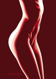 Translate this into digital art (Jan. Translate this into digital art (Jan. Art Poses, Beauty Art, Erotic Art, Female Art, Line Art, Vector Art, Body Art, Digital Art, Illustration Art