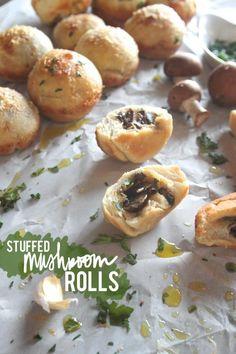 Stuffed Mushroom Rolls
