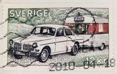 beautiful stamp Sweden 12 kr. postage stamp Volvo caravan Schweden postes timbre Suède francobolli Svezia bollo sellos Suecia selo Svenden 邮票 瑞典 Ruìdiǎn почтовая марка Швеция Σουηδία γραμματόσημα スウェーデン スタンプ 送料 Švédsko poštovné razítka porto