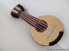 Crochet Pattern  MANDOLIN  in pdf  00455 by skymagenta on Etsy, $5.99