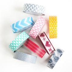 Jumbo Washi Tape Set by Whimseybox