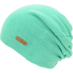 The Coal Julietta beanie is a classic slouch beanie in mint green to keep you looking good through the colder weather. Constructed with a soft knit with for total head warmth and comfort this bright pink small knit hat has a small leather Coal script tag for a clean and classic beanie style. ZUMIES $19.95