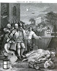 Image result for hogarth stages of cruelty