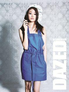 Kim Hyo-jin // Dazed and Confused // April 2013