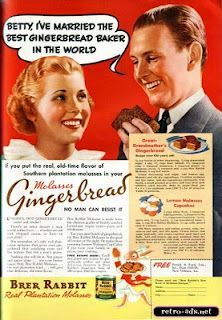 Dying for Chocolate: CHOCOLATE GINGERBREAD TRUFFLES: National Gingerbre... Retro Recipes, Old Recipes, Vintage Recipes, Easy Recipes, Cookie Recipes, Retro Ads, Vintage Ads, Vintage Food, Pastries