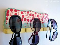 Cute Sunglasses Holder From A Fishing Rod Rack.great Idea To Have Near A  Pool For Extra Sunglasses For Guests
