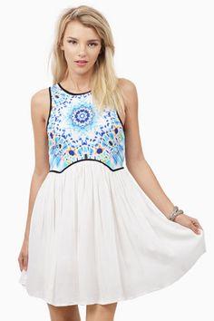 Colorworks Skater Dress