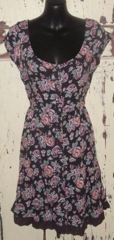 NWTS Abercrombie Fitch DRESS Small EASTER TEEN Juniors Womens Floral graduation #ABERCROMBIEFITCH