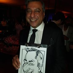 MasterCard caricatures on  Xmas party