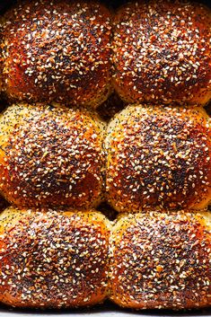 Everything Parker House Rolls Recipe - NYT Cooking Best Bread Recipe, Bread Recipes, Cooking Recipes, Cooking Bread, Cooking Oil, Cakes By Melissa, Quick Biscuits, Bagel Toppings, Parker House Rolls
