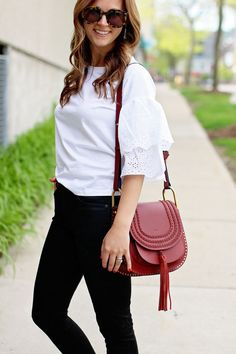 jillgg's good life (for less) | a west michigan style blog: my everyday style: getting frilly!