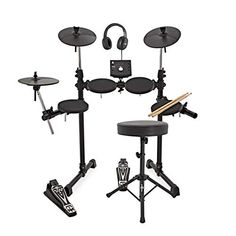 Shop for Digital Drums 400 Compact Electronic Drum Kit Package Deal. Starting from Choose from the 3 best options & compare live & historic percussion instrument prices. Electric Drum Set, Electric Guitars, Kids Drum Set, Digital Drums, Drum Pad, Drum Lessons, Package Deal, Drum Kits, Packaging