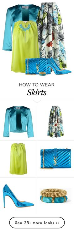 """Butterfly Skirt"" by barbarapoole on Polyvore"