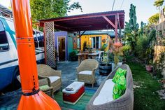 Check out this awesome listing on Airbnb: Luxury 60s Airstream in  of Venice in Los Angeles - Get $25 credit with Airbnb if you sign up with this link http://www.airbnb.com/c/groberts22