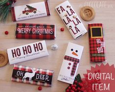 Stocking Stuffers are the most difficult to buy, aren't they? I've found handmade stocking stuffer ideas for your whole list! Christmas Candy Crafts, Christmas Party Favors, Christmas Truck, Plaid Christmas, Kids Christmas, Christmas Stockings, Merry Christmas, Cabin Christmas, Holiday Candy