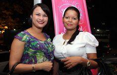 Marleny Polanco y Magdeline Antigua.
