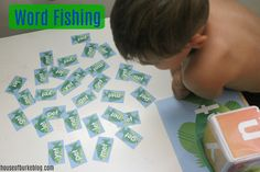House of Burke: Word Fishing Mother Goose Time, Creative Activities For Kids, Third Grade Reading, Just Pretend, Different Words, Camping Theme, Letter Recognition, Reading Levels, Tot School