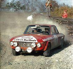 San Remo 1972 - Källström Harry - Häggbom GunnariconLancia Fulvia 1.6 Coupé HF