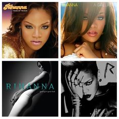 Rihanna - Music Of The Sun / A Girl Like Me / Good Girl Gone Bad / Rated R
