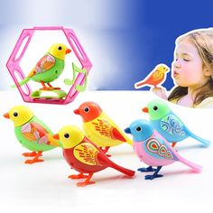 In Stock 20 Songs Singing Sound Birds Pets Sing Solo intelligent Music Toys Digibirds Music Bird for Kids Children Electric Toy