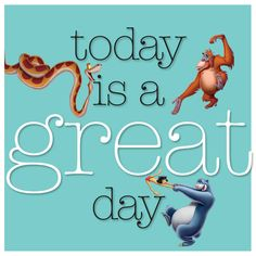 It's going to be a great day! Enjoy!