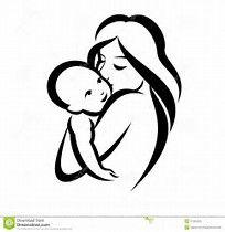 Risultato immagine per neonato stilizzato