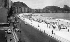 Avenida Atlântica anos 50