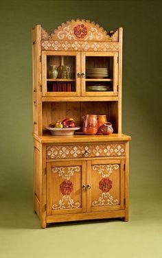 Truchas Trastero: Southwest Furniture, Santa Fe Style: Southwest Spanish  Craftsmen