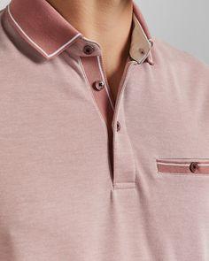 Designer Men's Tops & T-Shirts Gents T Shirts, Mens Polo T Shirts, Denim Shirt Men, Boys T Shirts, Polo Shirt Style, Polo Shirt Outfits, T Shirt Outlet, Polo Design, Plain Shirts