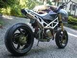 Ducati Hypermotard Custom Bike