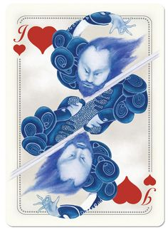 uusi — Blue Blood Playing Cards