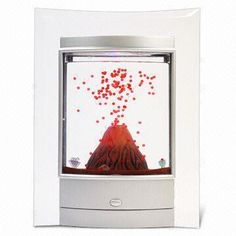 Volcano Light - Can work as a night light, has an auto turn off after four hours.  On sale for $35.95!