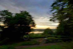 Impressiions of sun rising colours