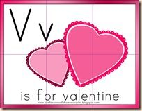 V Is For Valentine Preschool Craft Activities