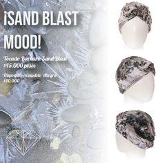 Sand Blast Mood Turbante Allegra y Bárbara Sand Blast #Turban #Turbante #Cancer #Fashion