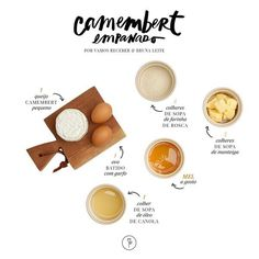 camembert ingredientes