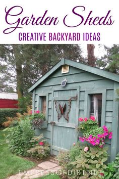 100 Garden Shed Ideas To Inspire Your Backyard Garden. All Styles, Sizes,  And
