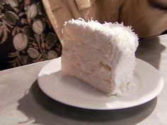 Coconut Cake with 7-Minute Frosting from FoodNetwork.com