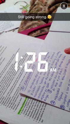 Probably procrastinated...