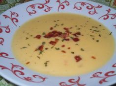 Make and share this Wisconsin Cheese Soup recipe from Genius Kitchen. Cheese Soup Recipe Easy, Easy Soup Recipes, Top Recipes, Crockpot Recipes, Cooking Recipes, Recipies, Blender Recipes, Chowder Recipes, Copycat Recipes