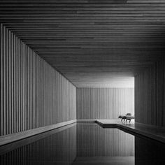 The pool is an inclusive portion of your dwelling. For instance, if you've got an indoor pool then developing a modern pool atmosphere may be good idea. An indoor pool may be the ultimate creature comfort. British Architecture, Space Architecture, Beautiful Architecture, Architecture Interiors, David Chipperfield Architects, Spa Design, Light And Space, Modern Buildings, Pool Designs
