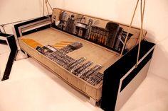 Stencil History X unusual sofa
