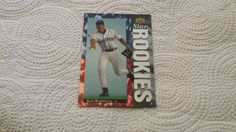 1994 Upper Deck Alex Rodriguez single baseball rookie card