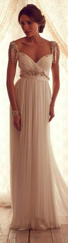 Stunning Wedding Dresses by Anna Campbell 2013 #bride #wedding ♥ wedding dress…