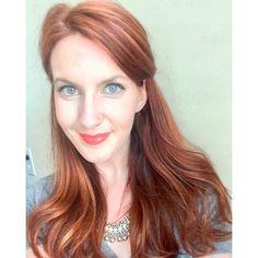 Red hair, copper hair, rose gold hair, long hair